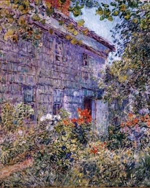Hassam: Old House and Garden