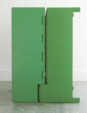 Roy McMakin: Untitled A Chest of Drawers and a Daybed that Fit Together)