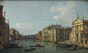 Canaletto The Grand Canal